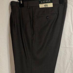 Men's Ralph Lauren 36x30 Brown Dress Pants